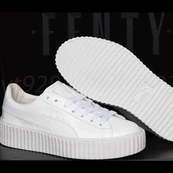 new product baa0e 452e6 PUMA x FENTY by Rihanna White Shoes Sneakers